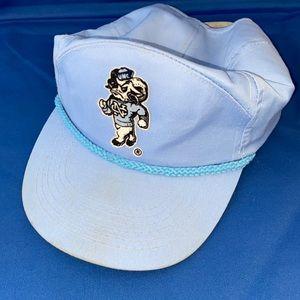 GUC Vintage UNC Tar Heels Golf Hat Cap Retro Rope